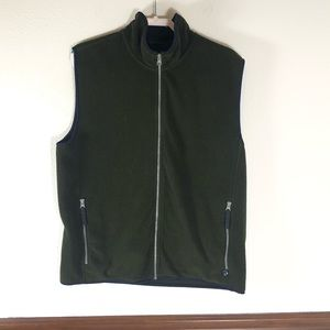 Men's Izod performx fleece vest size L